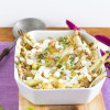 Kartoffel Fenchel Auflauf mit Walnüssen und Zitrone
