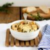 Französische Zwiebelsuppe mit Weißwein