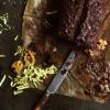 Zucchini Walnuss Brot mit Dunkler Schokolade