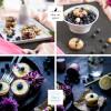 Heidelbeer Muffin Cookies mit Macadamia Streuseln