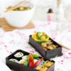 Miso-Suppe, Hoso-Maki-Sushi & Bento-Box