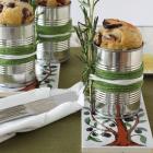 Oliven Rosmarin Brot in der Blechdose