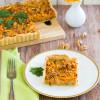 Süßkartoffel Tarte mit Gorgonzola und Walnüssen