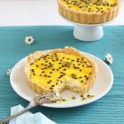Cheesecake Tartelettes mit Passionsfrucht Curd