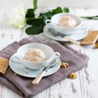 Schokoladen Spekulatius Eis mit Walnüssen