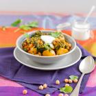 Kichererbsen Kartoffeln Curry