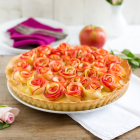 Apfelrosen Kuchen