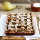 Birnen Kuchen mit Garam Masala