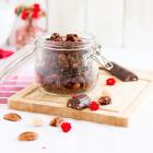 Knuspermüsli Pekan Macadamia Schokolade