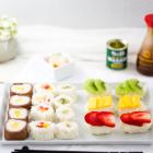 Süße Sushi Platte