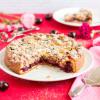Streusel Kuchen mit Kirschen & Marzipan