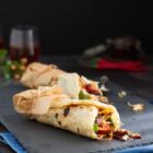 Indonesische Sambal Oelek Pulled Chicken Wraps
