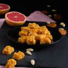 Aprikosen Mandeln Grapefruit Snack