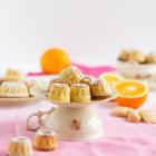 Mini Gugls mit Marzipan & Orange