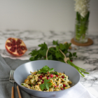 Salat aus geröstetem Blumenkohl & Haselnüssen
