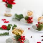 Mini Panettone mit Schokolade & Cranberries