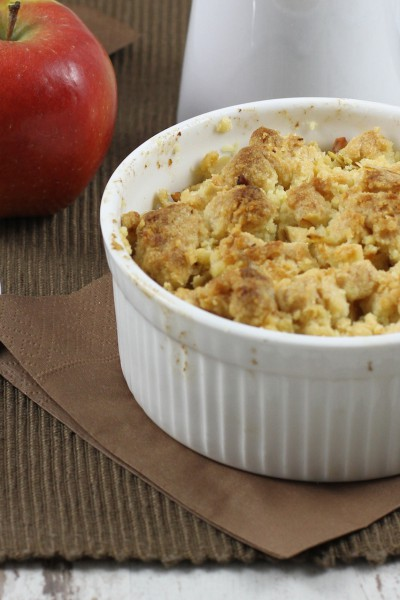 haseimglueck.de Rezept, Apple-Crumble 2