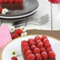 haseimglueck.de Rezept, Himbeer-Schokolade-Schnitten 1