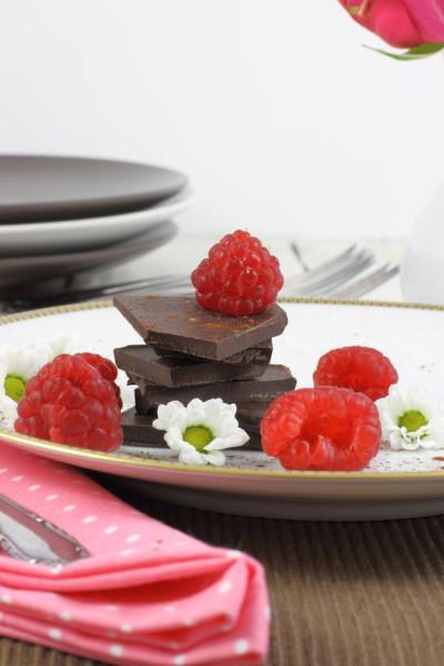 haseimglueck.de Rezept, Himbeer-Schokolade-Schnitten 2