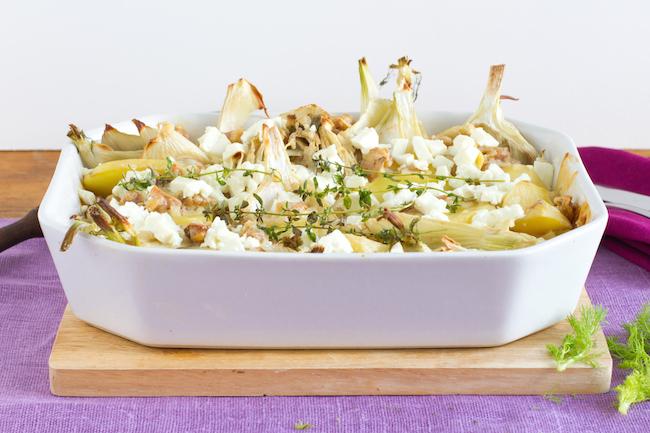 haseimglueck.de Rezept, Kartoffel-Fenchel-Auflauf 4