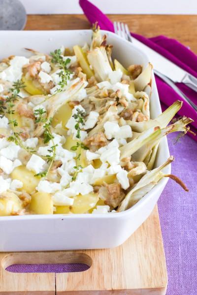 haseimglueck.de Rezept, Kartoffel-Fenchel-Auflauf 5
