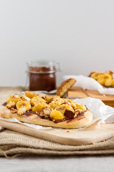 haseimglueck.de Rezept, Flammkuchen-Schoko-Bananen 3
