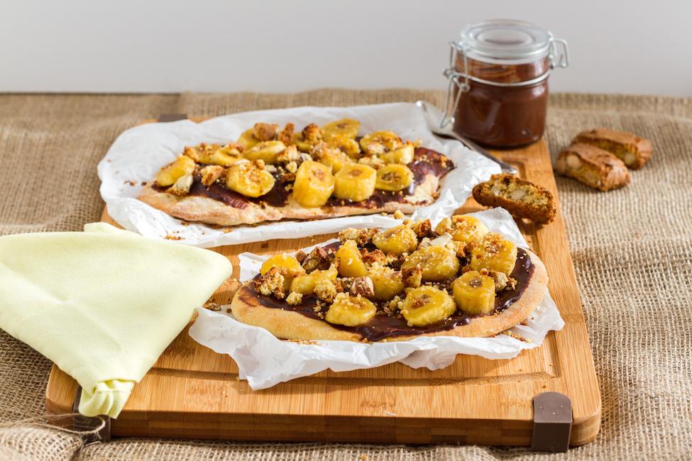 haseimglueck.de Rezept, Flammkuchen-Schoko-Bananen 6