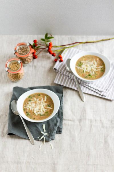 haseimglueck.de Rezept, Bohnen-Dinkel-Suppe-mit-Pancetta und Parmesan 3
