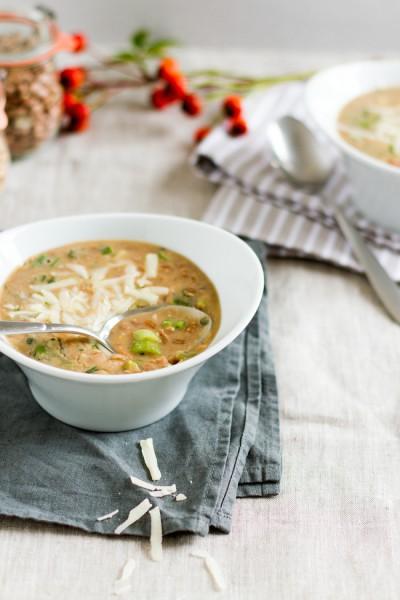 haseimglueck.de Rezept, Bohnen-Dinkel-Suppe-mit-Pancetta und Parmesan 4