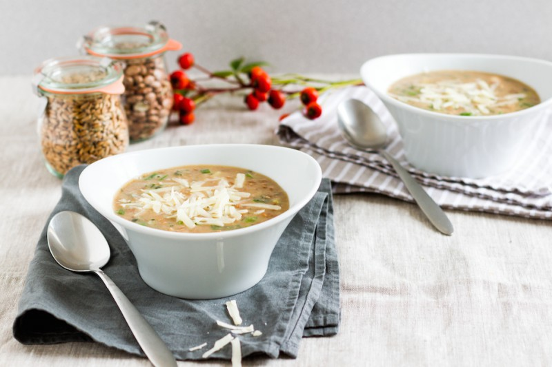 haseimglueck.de Rezept, Bohnen-Dinkel-Suppe-mit-Pancetta und Parmesan 6