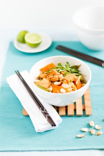 haseimglueck.de Rezept, Reisnudeln-Huhn-Gemüse-Ei Pad Thai 3