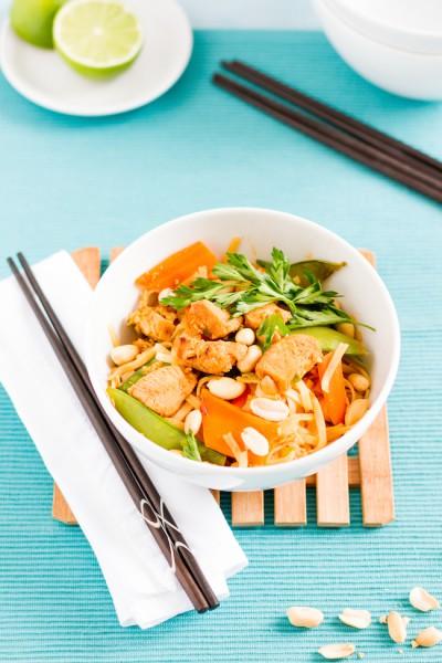 haseimglueck.de Rezept, Reisnudeln-Huhn-Gemüse-Ei Pad Thai 6