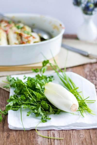 haseimglueck.de Rezept, Chicoree-Kartoffel-Schinken-Auflauf 8