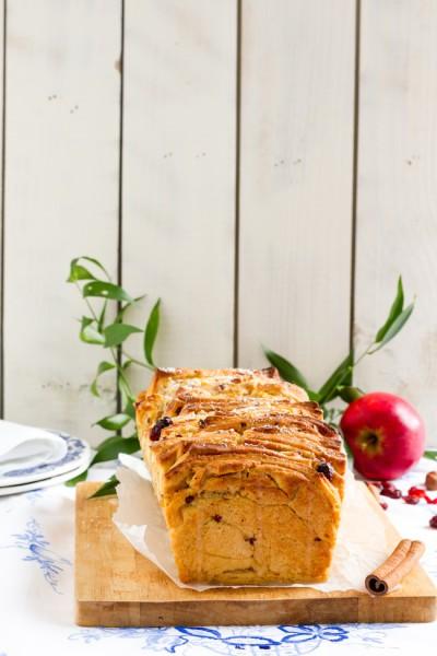 haseimglueck.de Rezept, Pull-Apart-Bread-Äpfel-Cranberries 4