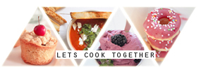 Let's cook together banner