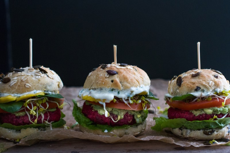 haseimglueck.de Rezept, Rote-Bete-Burger 5