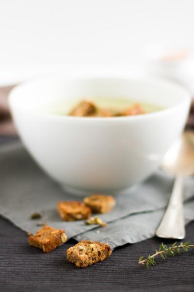 haseimglueck.de Rezept, Fenchel-Tymian-Suppe 2
