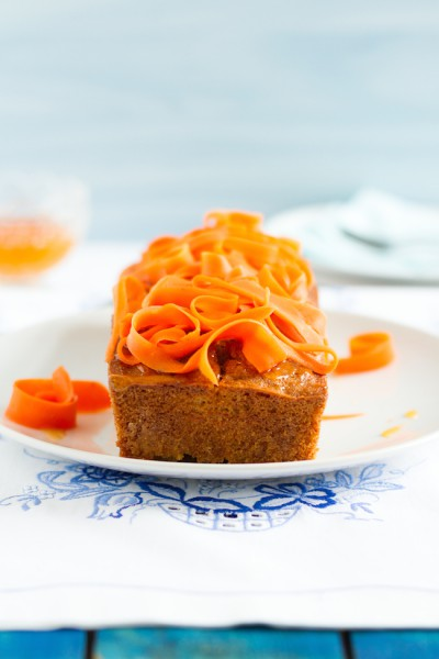 haseimglueck.de Rezept, Möhren Kuchen 8