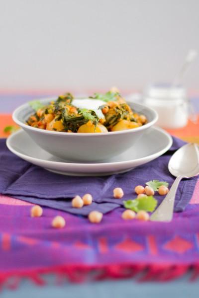 haseimglueck.de Rezept, Kichererbsen-Kartoffel-Curry 2