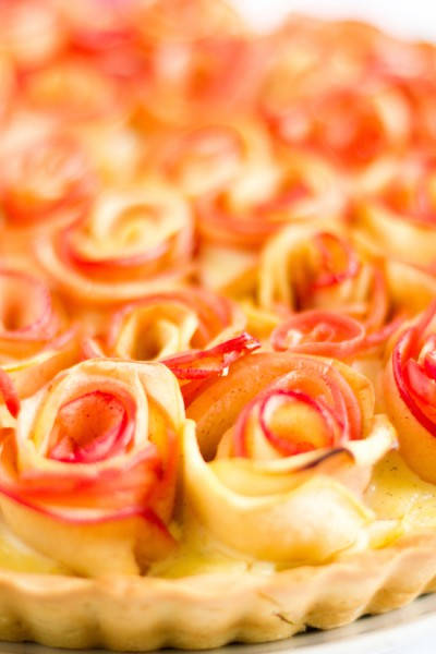 haseimglueck.de Rezept, Apfelrosen Kuchen 8