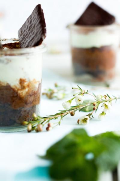 haseimglueck.de Rezept, Schokoladen Kuchen mit Pfefferminz Creme 6