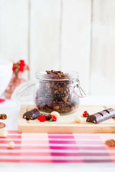 haseimglueck.de Rezept, Knuspermüsli Pekan Cashew Schokolade 2