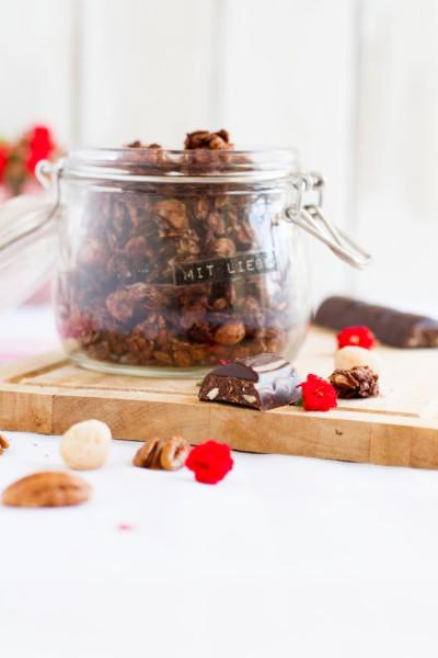 haseimglueck.de Rezept, Knuspermüsli Pekan Cashew Schokolade 7