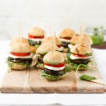 haseimglueck.de Rezept, Antipasti Burger 1