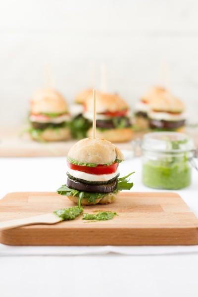 haseimglueck.de Rezept, Antipasti Burger 5