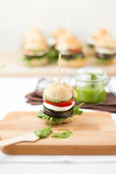 haseimglueck.de Rezept, Antipasti Burger 7