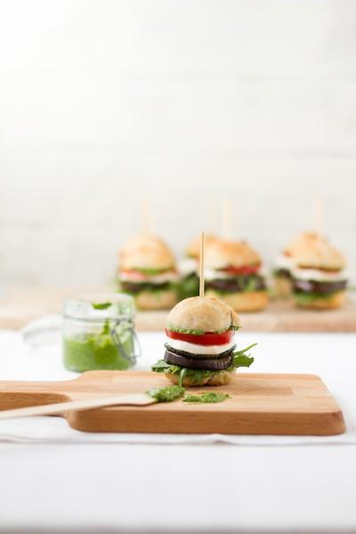 haseimglueck.de Rezept, Antipasti Burger 8