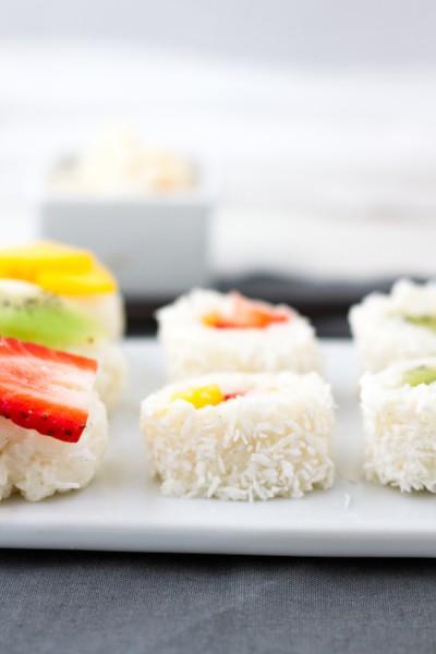 haseimglueck.de Rezept, Süße Sushi Platte 9