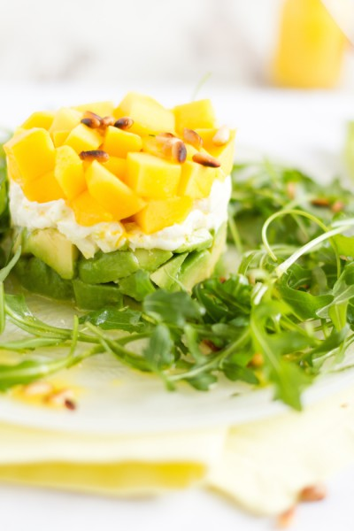 haseimglueck.de Rezept, Salat Mango Avocado Mozzarella 5