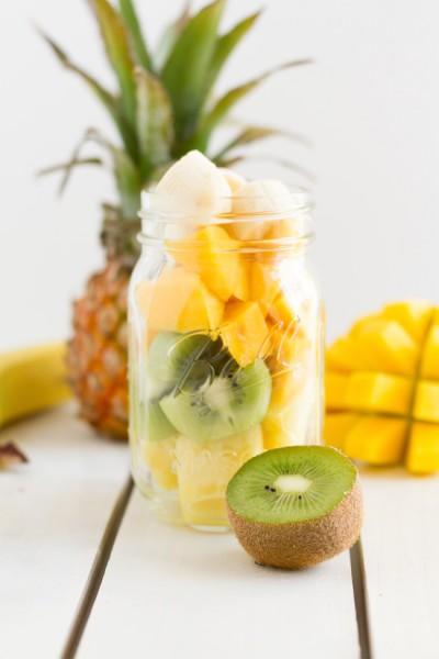 haseimglueck.de Rezept, Smoothie Kiwi Ananas Mango 4